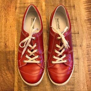 Josef Seibel Red Caspian Sneaker EU size 40